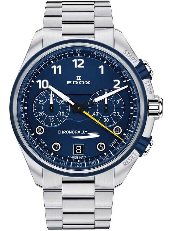 Edox 09503 3BUM BUBG Chronorally-S Heren Horloge