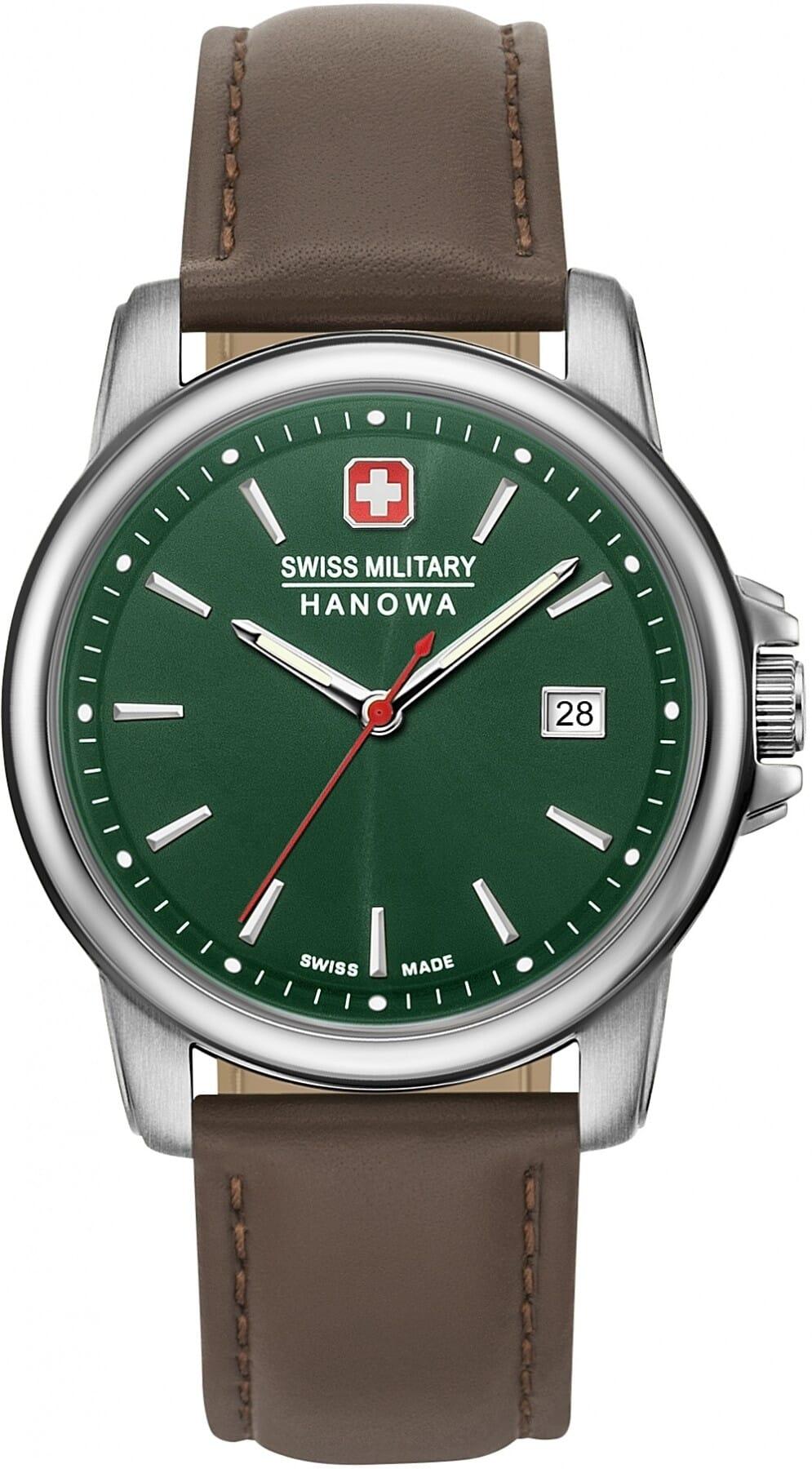 Swiss Military Hanowa 06 4230.7.04.006 Swiss Recruit II Heren Horloge