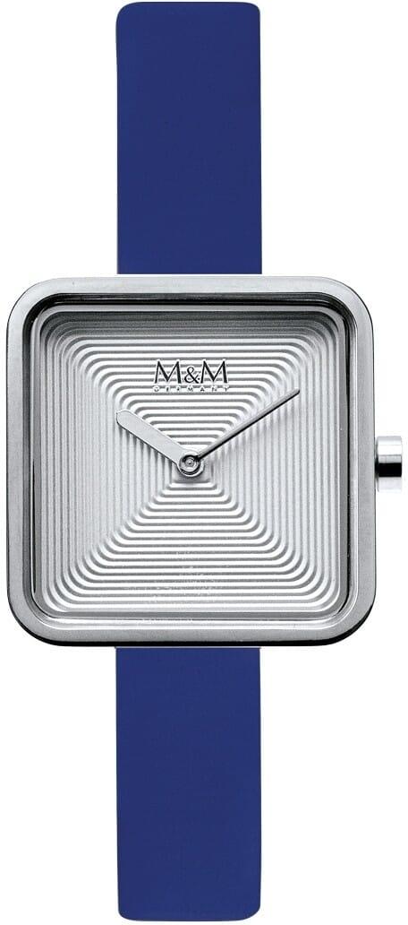 M&M Germany M11951-742 Square line Dames Horloge
