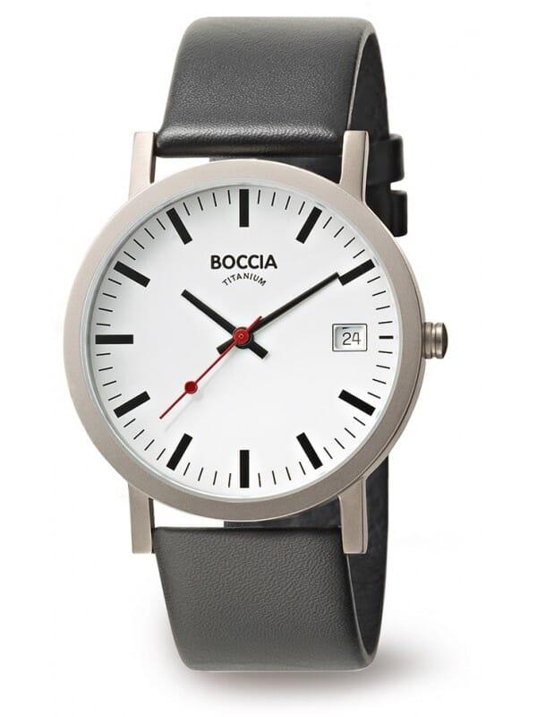 Boccia Titanium 3622-01 Heren Horloge