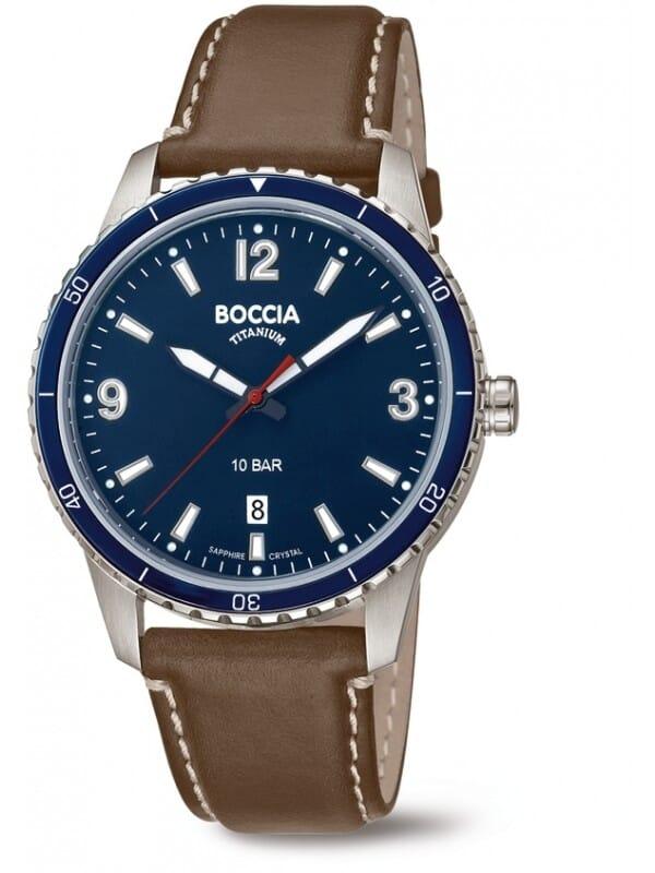 Boccia Titanium 3635-02 Heren Horloge