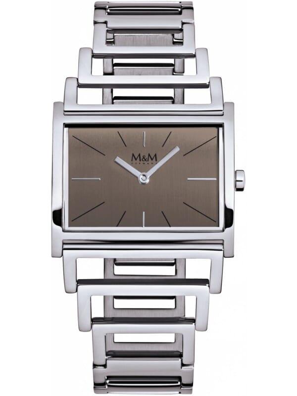 M&M Germany M11901-147 Square line Dames Horloge