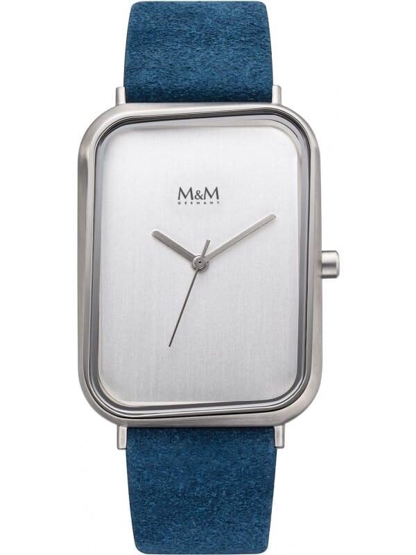 M&M Germany M11947-622 Square line Dames Horloge