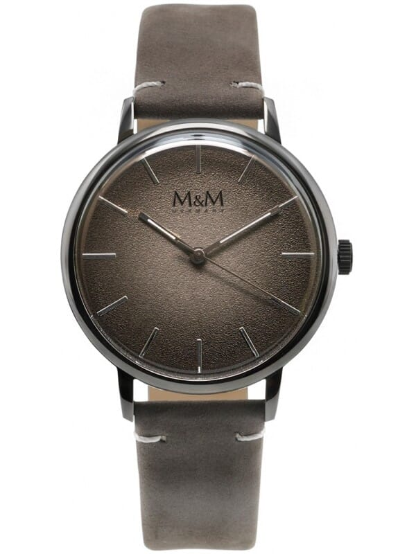 M&M Germany M11952-989 New classic Heren Horloge