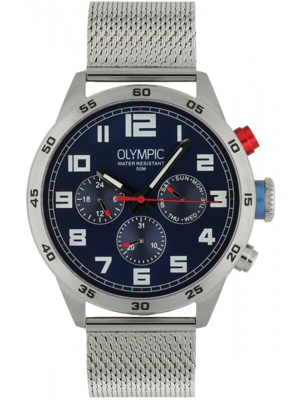 Olympic OL89HSS045 Football Heren Horloge