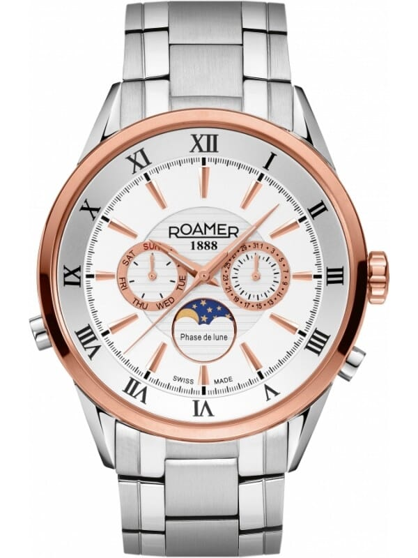 Roamer 508821 49 13 50 Superior Moonphase Heren Horloge