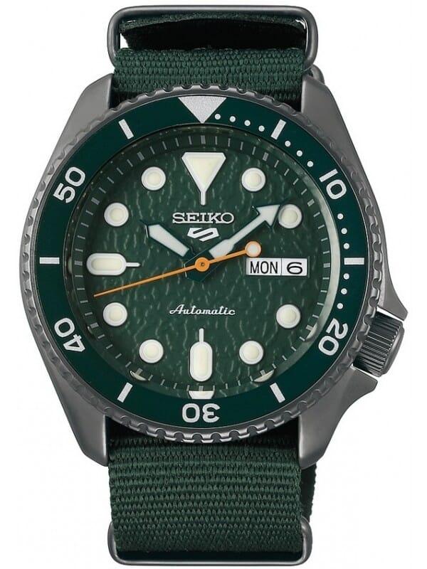 Seiko SRPD77K1 Seiko 5 Sports Heren Horloge