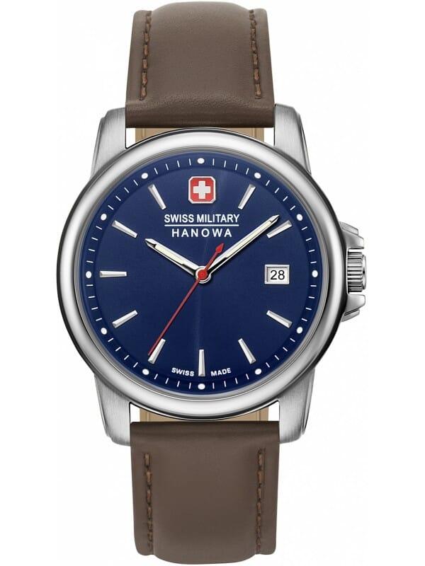 Swiss Military Hanowa 06-4230.7.04.003 Swiss Recruit II Heren Horloge