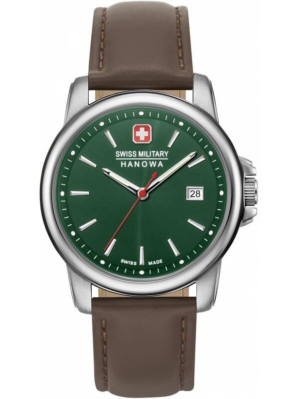 Swiss Military Hanowa 06-4230.7.04.006 Swiss Recruit II Heren Horloge