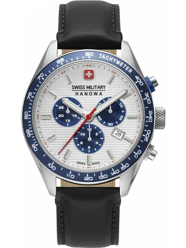 Swiss Military Hanowa 06-4334.04.001.03 Phantom Chrono II Heren Horloge