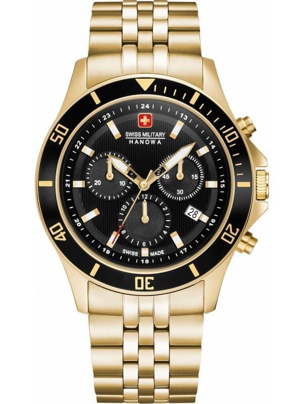 Swiss Military Hanowa 06-5331.02.007 Flagship Chrono II Heren Horloge