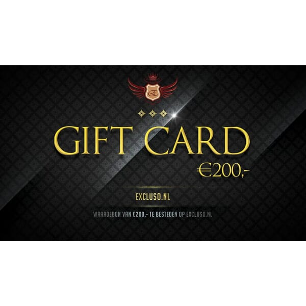 Excluso.nl Gift Card €200,-
