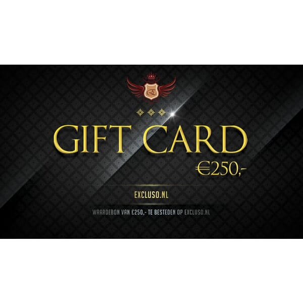 Excluso.nl Gift Card €250,-