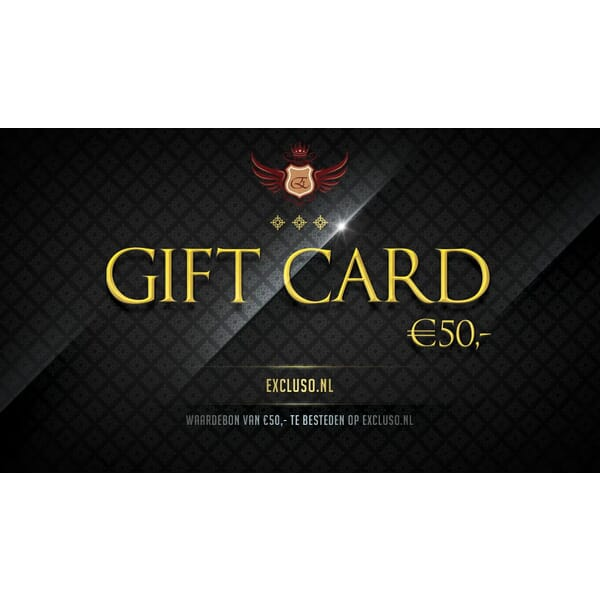 Excluso.nl Gift Card €50,-