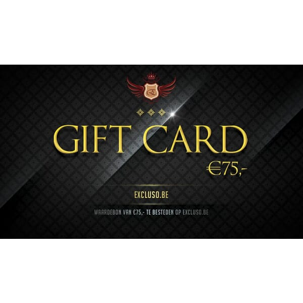 Excluso.be Gift Card €75,-
