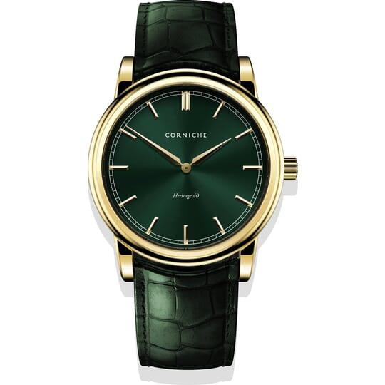 Corniche Heritage 40 C65410 Heren Horloge