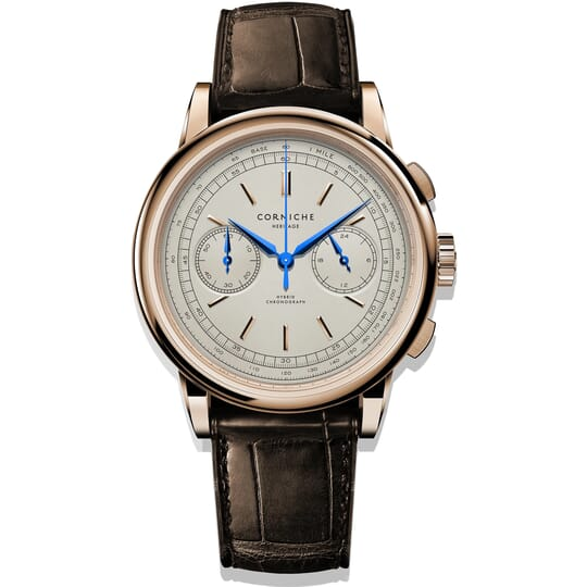 Corniche Heritage Chronograph C70984 Heren Horloge