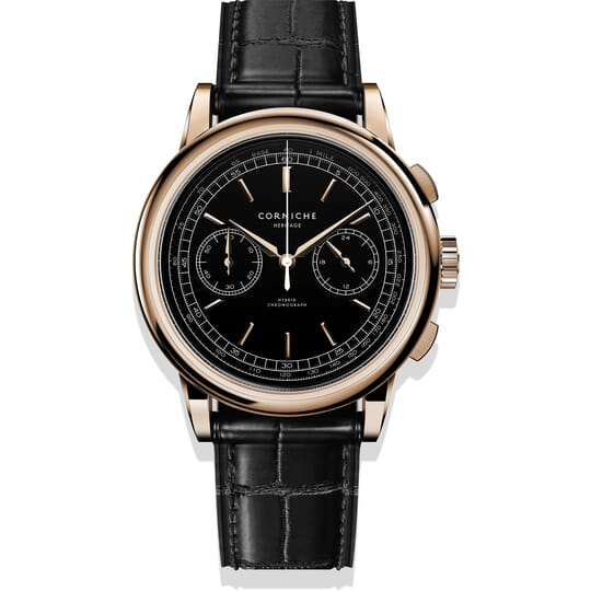 Corniche Heritage Chronograph C65407 Heren Horloge