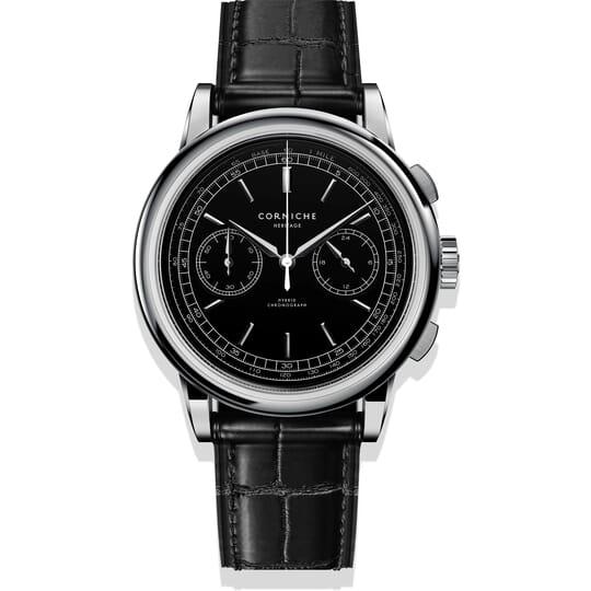 Corniche Heritage Chronograph C65408 Heren Horloge