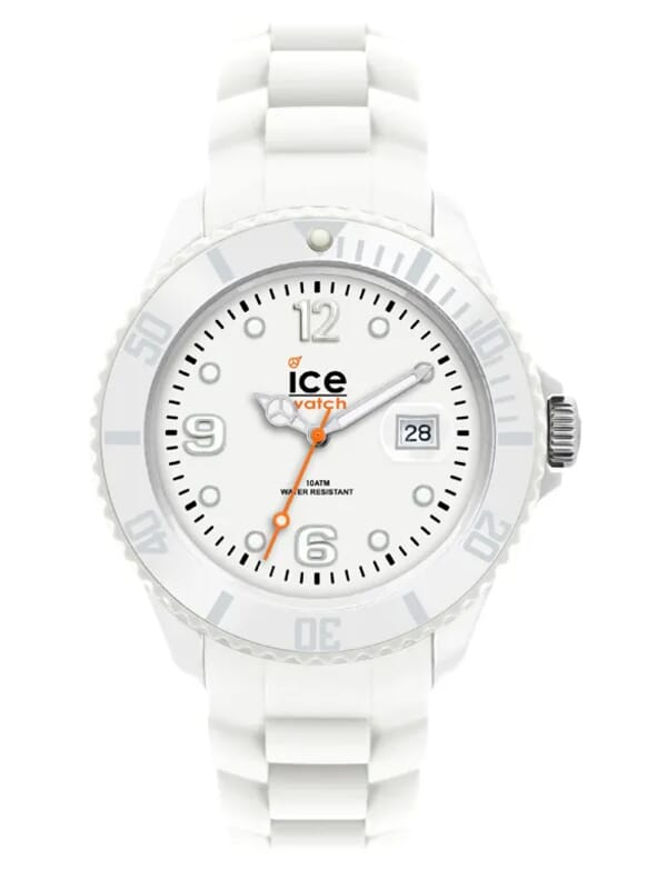 Ice-Watch Sili Forever White SI.WE.U.S.09 Unisex Horloge