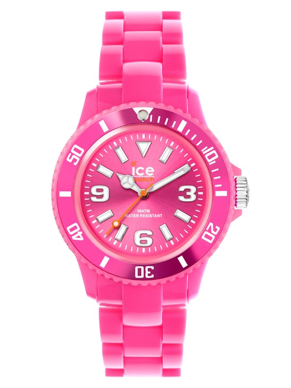 Ice-Watch Ice-Solid Pink Small IW000619 Dames Horloge