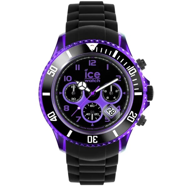 Ice-Watch IW000681 Chrono Black Purple Big